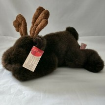Gusto Plush Moose Elk Deer Russ Berrie Stuffed Animal Plushie Retired St... - $19.99