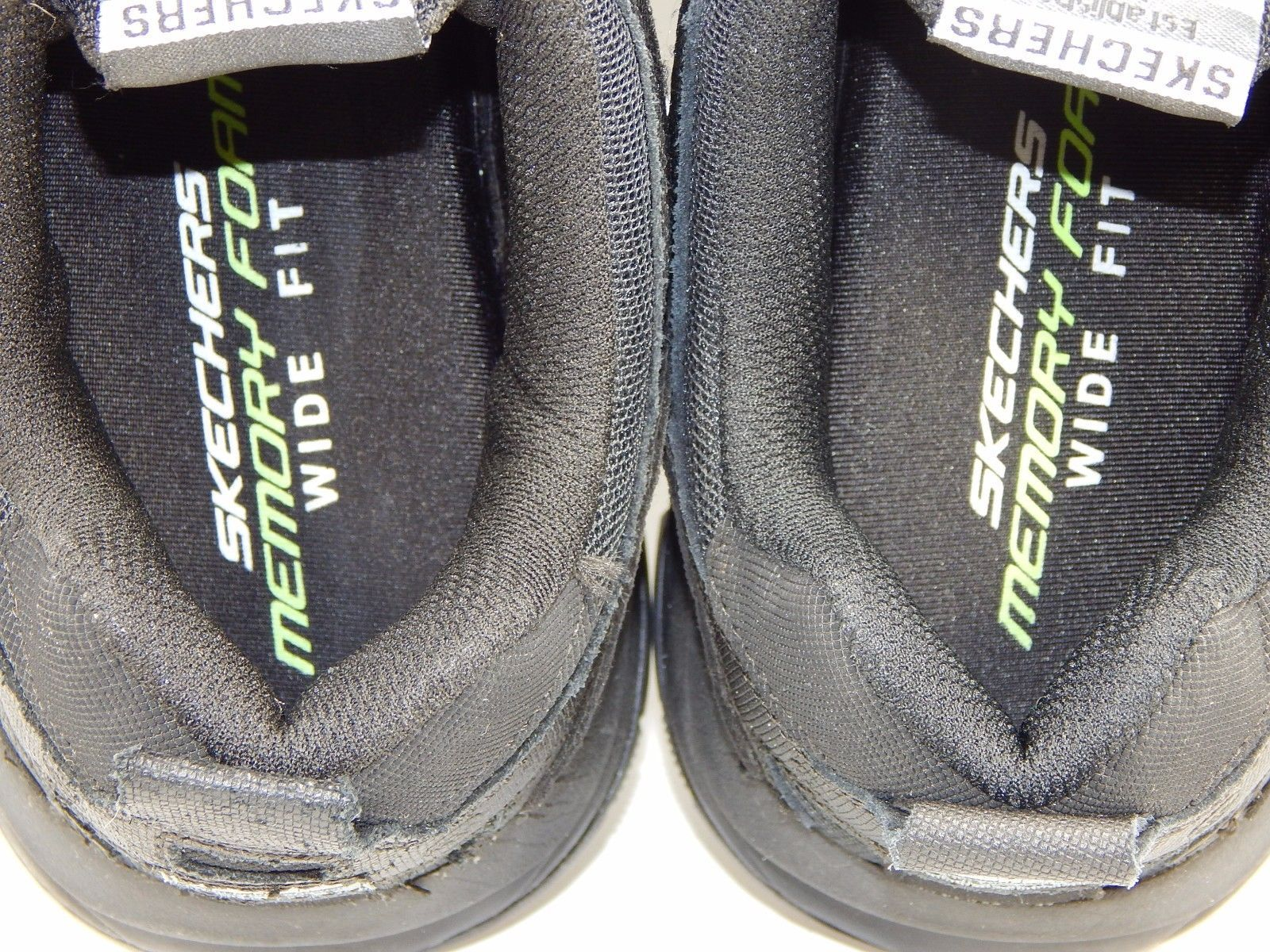 Skechers Vigor 2.0 Trait Memory Foam Men's Athletic Shoes Sz US 9 2E WIDE EU 42