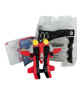 2002 Transformers Armada Starscream #3 McDonald's Happy Meal Toy Open Package - $7.91