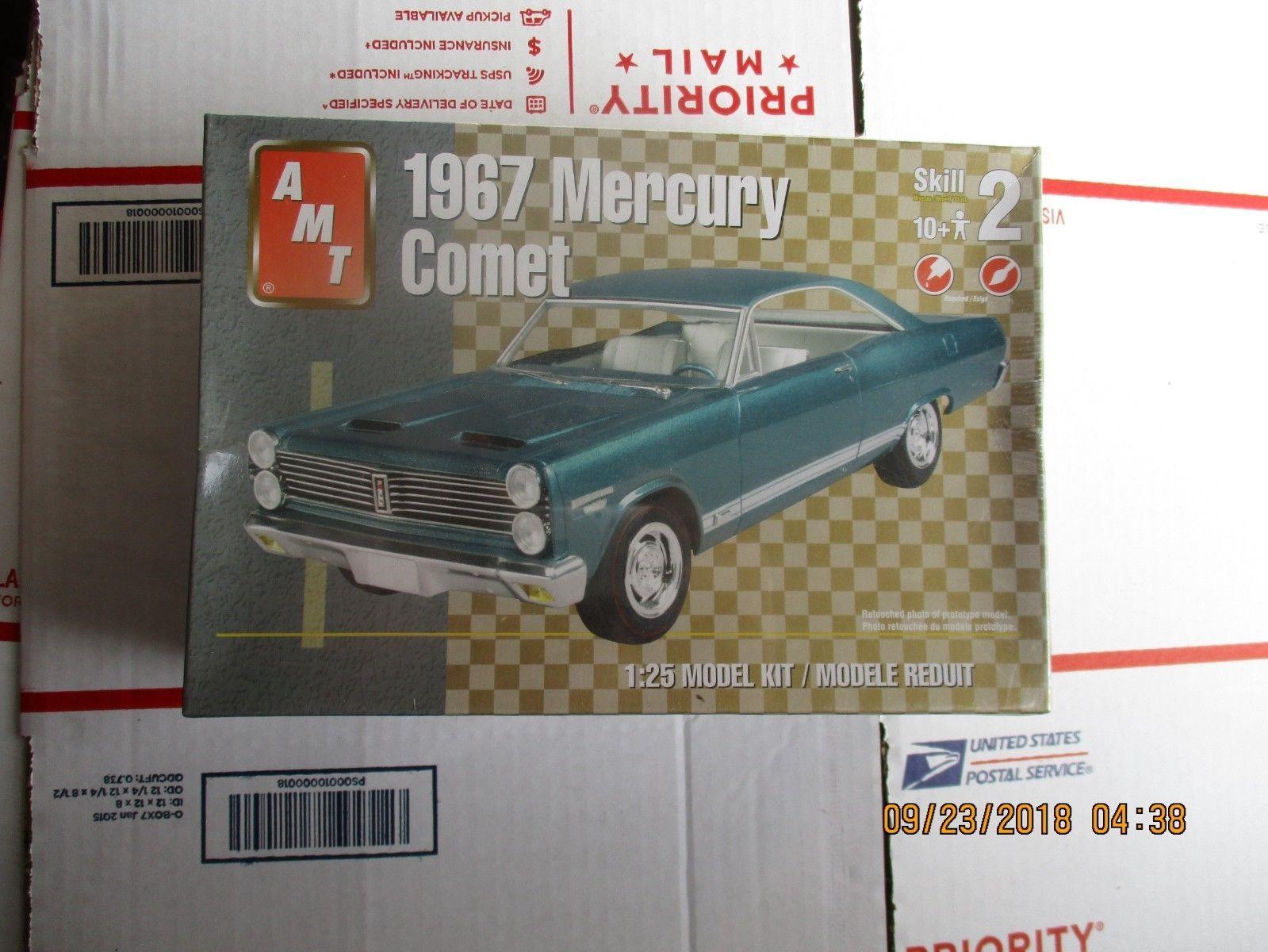 AMT 1967 Mercury Comet 1/25 scale