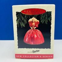 Hallmark Barbie Christmas ornament holiday keepsake nib box 1993 mattel ... - $13.50
