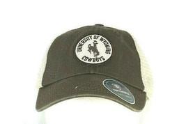 University Of Wyoming Cowboys Brown Baseball Cap Snapback - $31.99
