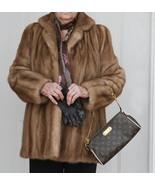 Stephen Burrows Autumn Haze Jacket Mink Fur  Jacket - $300.00