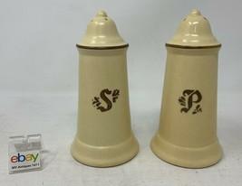 "Pfaltzgraff USA ""Village"" Set of Salt and Pepper Shakers - Vintage But N... - $8.99"