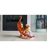 Extremely Rare! Walt Disney Tigger and Piglet Playing Figurine Statue  - $297.00