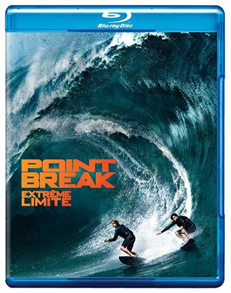 Point Break [Blu-ray + DVD, 2015] New