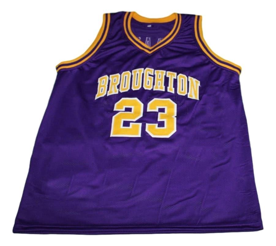 Pete Maravich #23 Broughton High School New Basketball Jersey Purple Any Size