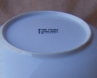 Spring Wheat Vegetable Bowl Fine China of Japan