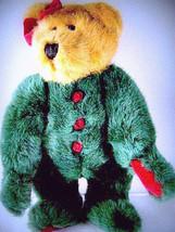 "Boyds Bears""Glenda"" 12"" Plush Bear ~ style #91891-04 ~ NWT-  1998- Retired - $19.99"