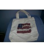patriotic canvas tote bag - $1.00