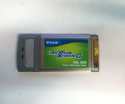 D-Link DWL-G650 AirPlus Xtreme G Wireless 108G Network Adapter PCMCIA - $10.00