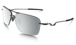 Oakley Tailback Sunglasses OO4109-04 Lead Frame W/ Chrome Iridium Lens NEW - $59.39