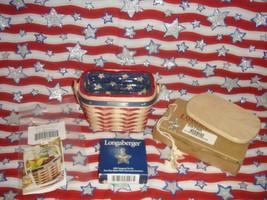 Longaberger 2001 Hostess Appreciation Inaugural Basket Combo Plus Lid - $44.99