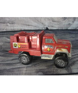 Vintage 1990's Tonka Watertown Fire Dept FireTruck Pumper Unit 4  - $6.71
