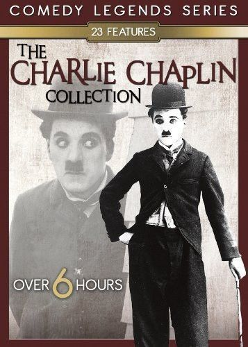Charlie Chaplin Collection DVD Vol 1-23 Features Comedy Series Films Silent Set
