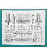 MILITARY Cannons Artillery Foundry Casting Projectiles etc - 1844 Superb... - $19.80