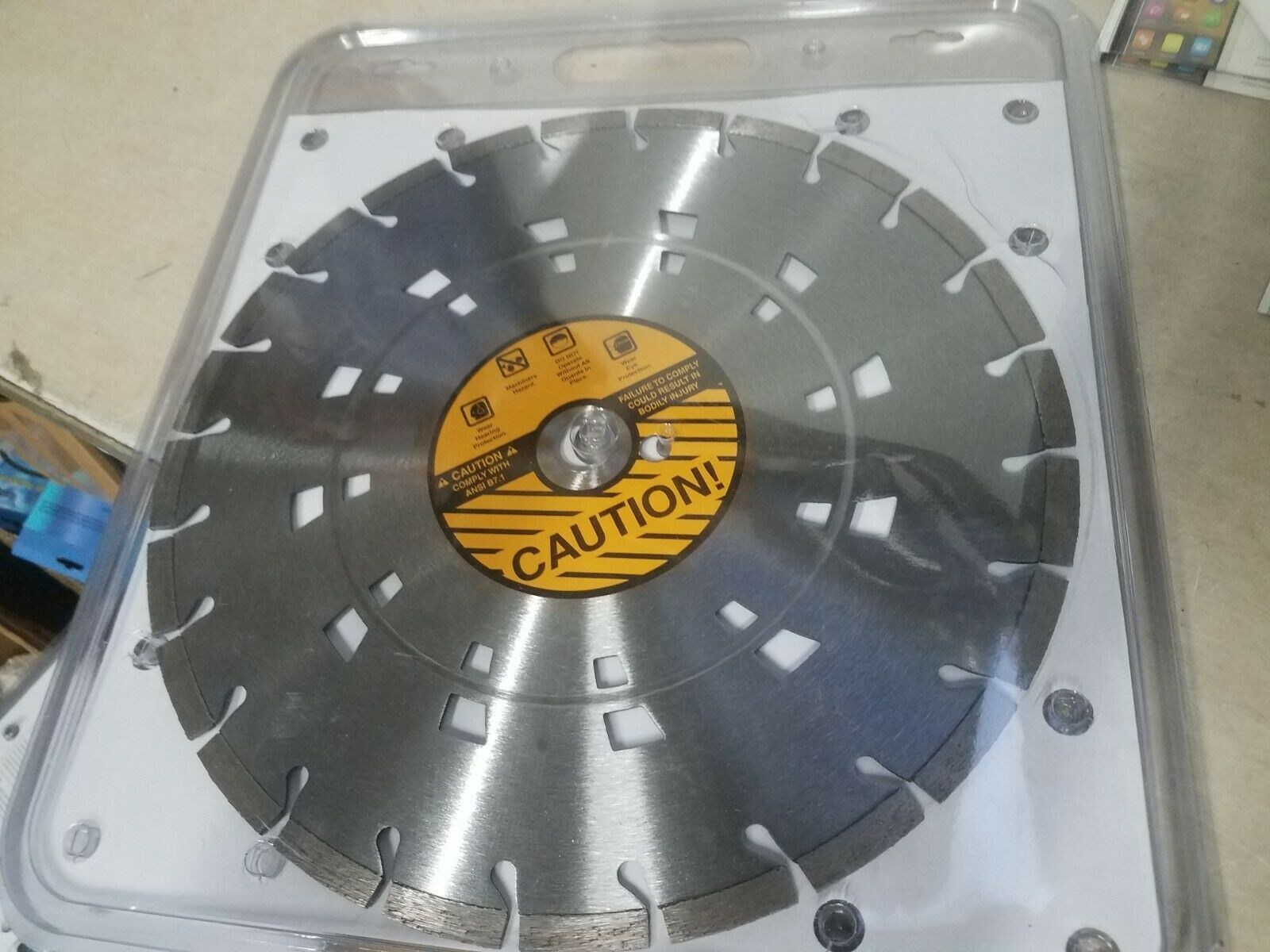 "Primary image for 14"" 125 1DP 20mmB Laser 10 Sawblade #381749 / 587619901 New"
