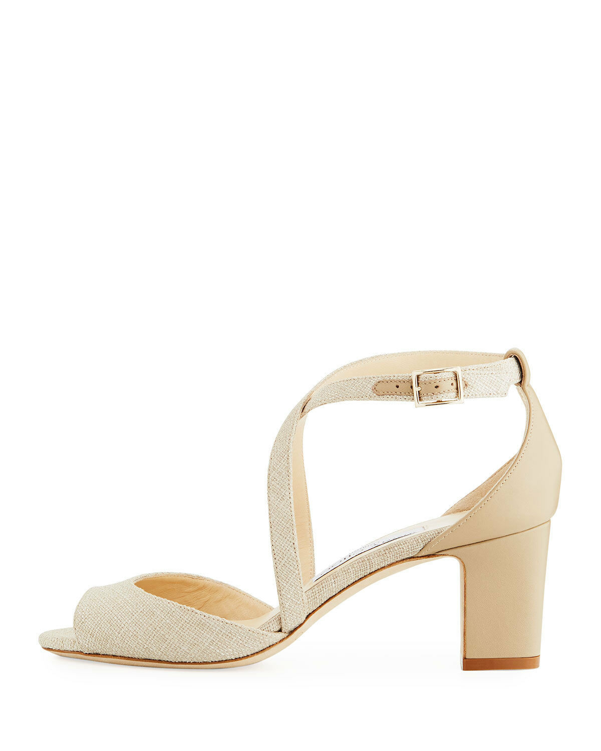 Jimmy Choo Carrie Canvas 65mm Sandals  $695.00 Size 36