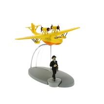 Tintin & SY-AMO seaplane from King Ottokar's Sceptre
