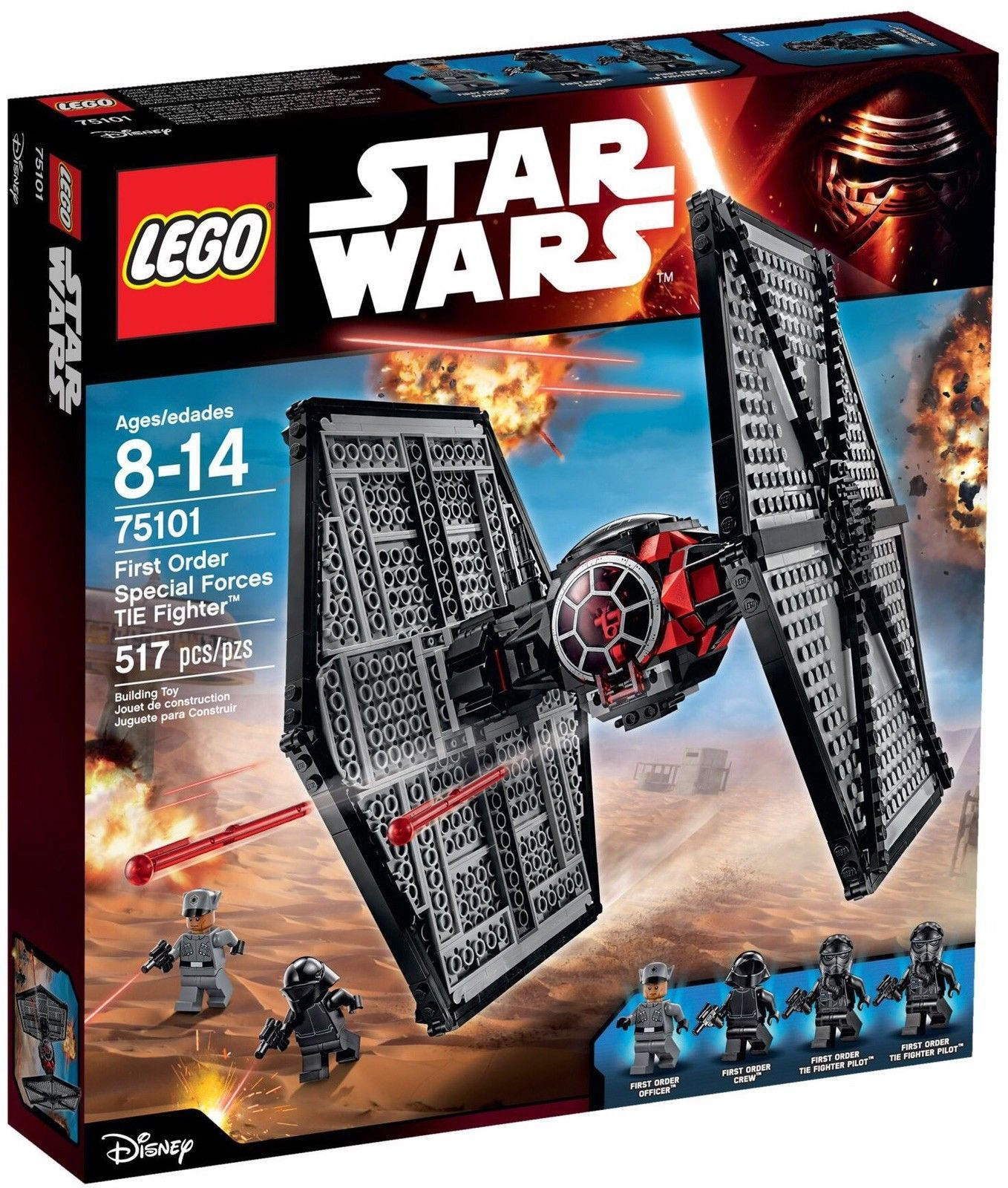LEGO Star Wars 75101 First Order Special Forces TIE Fighter [New] Building Set