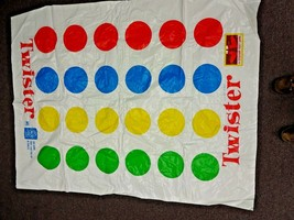 Vintage 1966 - Milton Bradley TWISTER Replacement Part / Piece - Play Mat - $14.14