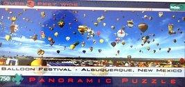 Buffalo Games Balloon Festival Albuquerque, New Mexico 765 Piece Panoramic Jigsa - $23.47