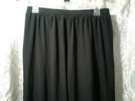 Anne Kllein for New Aspects Black Polyester Pants Size 12 NWT Closet90 - $13.00