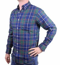 NEW MEN'S DOCKERS CLASSIC FIT CASUAL WOVEN FLANNEL SHIRT BLUE 8V043LK SIZE XL image 2