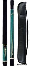 Cuetec Blue 13-824 Warrior Series Two Piece Billiard Pool Cue Stick + Free Case - $96.00
