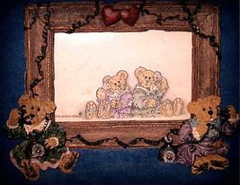 "Boyds Bearstone Frame ""Alexandra & Belle..Telephone Tied"" #27355- 1E-1999 - NIB - $29.99"