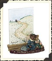 "Boyds Bearstone Frame ""Lindy & Sarah.. Best Friends"" #27366- 1E-2000 - NIB - $19.99"