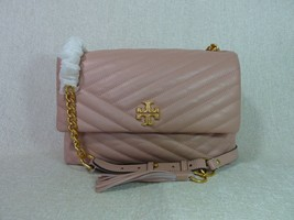 NWT Tory Burch Pink Moon Kira Chevron Flap Shoulder Bag - $502.90