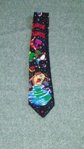 Looney Tunes Mania Tie Taz Marvin the Martian Novelty Necktie Savor The Planets - $10.69