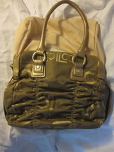 Liz Claiborne Mosaic Print Ruched Purse or Handbag - $17.99