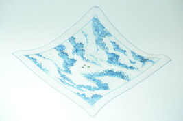 "HERMES Pleated Scarf """" White 100% Silk Auth 2043 - $250.00"