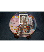 Hamilton ~ Lore of the West Plate Mile in His Moccasins - $9.99