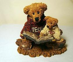 """Boyds Bearstone """"Ted & Teddy"""" #2223- NIB- 1993 -Retired - $12.99"""