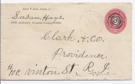 1900 New Albany, OH Vintage Postal Cover - $9.95