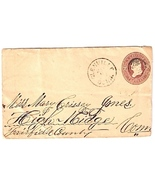 c1875 Glenville, CT Discontinued/Defunct (DPO) Postal Cover - €9,02 EUR