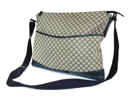 Auth GUCCI Diamante Canvas Leather Black Cross-Body Shoulder Bag GS1762 - $298.00
