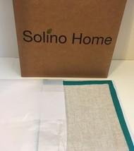 "Solino Home Linen Napkins Concordia 16"" x 16"" Turquoise Set of 4  - $15.90"