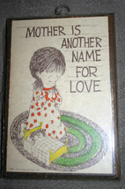"Vintage 1977 Sealed Praying Girl ""Mother Is Ano... - $18.37"