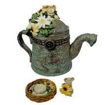 """Boyds Treasure Box """"Tillie's Watering Can w/Sunny McNibble"""" #392159-2E-... - $19.99"""
