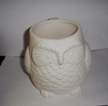 Excellent Paint it yourself OWL Mug  highly detailed fun mug - $11.03