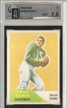 1960 Fleer #11 Fran Curci Gai 7.5 Near Mint+ - $24.70