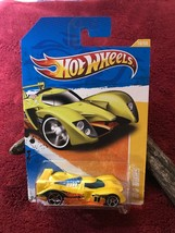 Hot Wheels 2011 New Models 24 Durs #10/50 Yellow Factory Sealed - $4.00