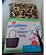 Rite Aid Tugaboos large Diaper Bag gold leopard print - $9.99