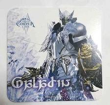 Final Fantasy XIV Job Paladin PLD Coaster Eorzea Cafe Square Enix Game b... - $24.74