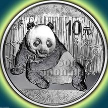 2015 Chinese PANDA 1 oz .999 Silver Mint Sealed in Capsule BU Bullion Co... - $32.95