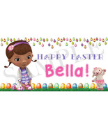 Doc McStuffins Easter Basket Sticker, Waterproof and Personalized - $3.25+